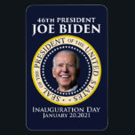 """Inauguration day 2021 president Biden Magnet<br><div class=""""desc"""">Inauguration day 2021 president Biden T-Shirt with the seal of the president of the united states Biden inauguration day shirt,  you can use this design on other products</div>"""