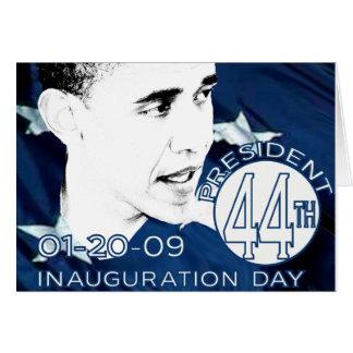 Inauguration Day Card