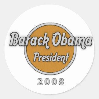 inauguration day jan 20 2009 classic round sticker