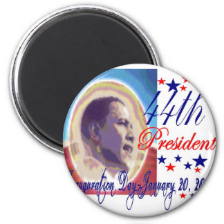 inauguration day January 20, 2009 2 Inch Round Magnet