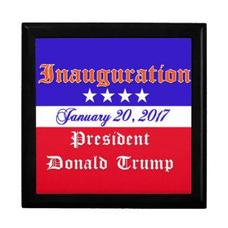 Inauguration Donald Trump January 20, 2017 Gift Box