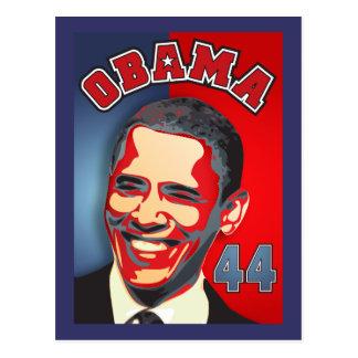 Inauguration Obama - 44th President Postcard