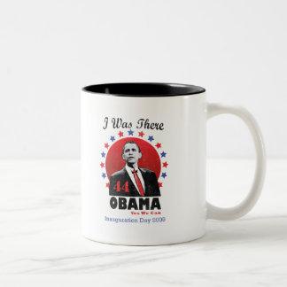Inauguration Obama - 44th President Two-Tone Coffee Mug