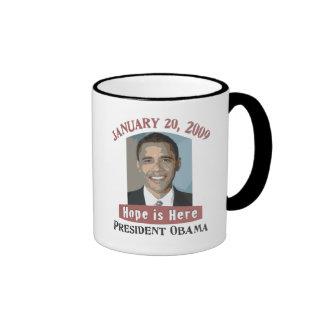 Inauguration Obama Mug