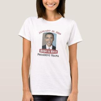 Inauguration Obama T-shirt