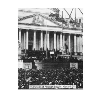 Inauguration of Abraham Lincoln March 4 1861 Calendars