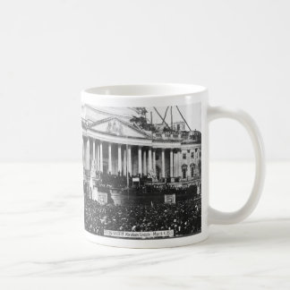 Inauguration of Abraham Lincoln March 4, 1861 Coffee Mug