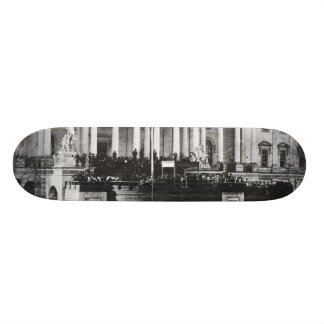 Inauguration of Abraham Lincoln March 4, 1861 Custom Skateboard
