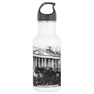 Inauguration of Abraham Lincoln March 4, 1861 Stainless Steel Water Bottle