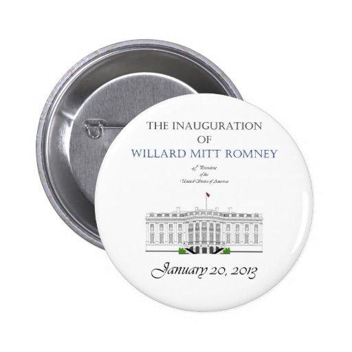 Inauguration of Mitt Romney 2013 2 Inch Round Button