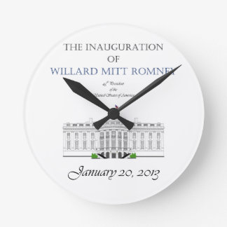 Inauguration of Mitt Romney 2013 Wallclock
