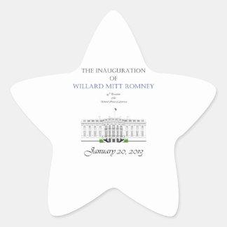 Inauguration of Mitt Romney 2013 Star Sticker