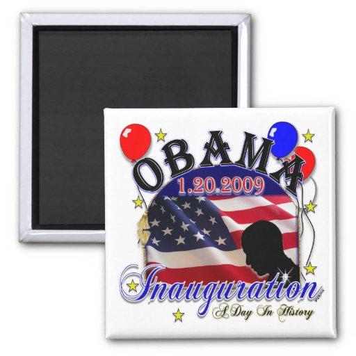 Inauguration of President Obama 2009 Refrigerator Magnet