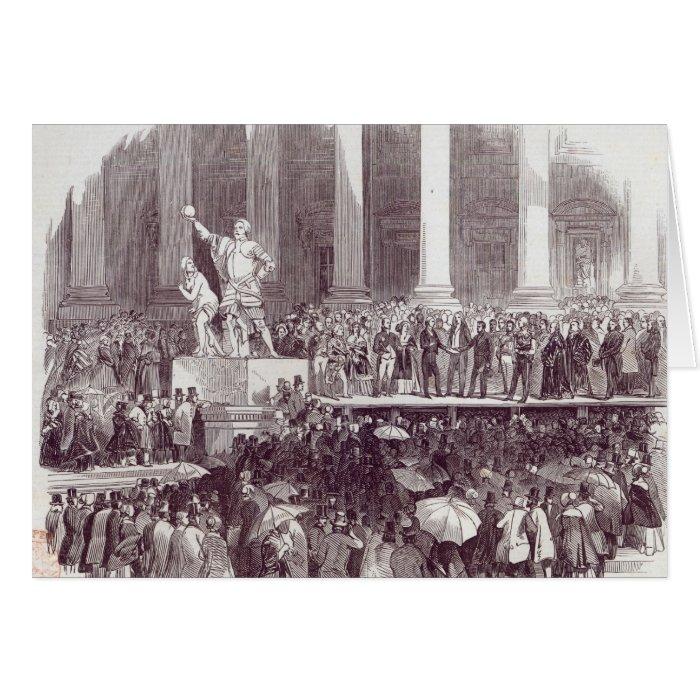 Inauguration of President Polk: The Oath Card