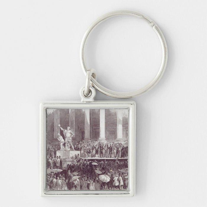 Inauguration of President Polk: The Oath Keychain