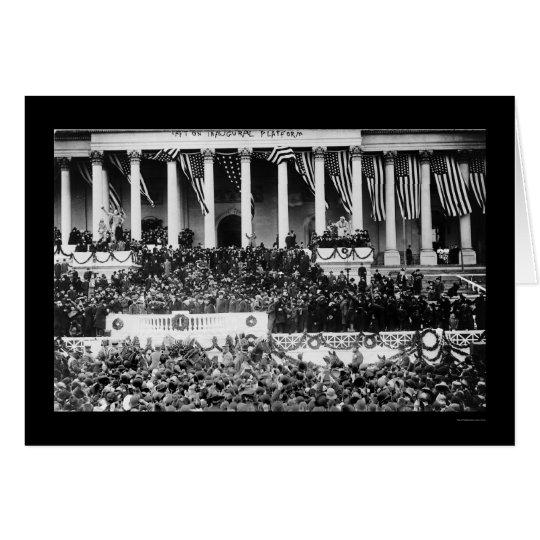 Inauguration of President Taft 1909 Card