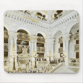 Inauguration of the Paris Opera House Mouse Pad