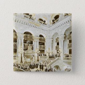 Inauguration of the Paris Opera House Pinback Button