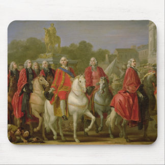 Inauguration of the Place Louis XV Mouse Pad