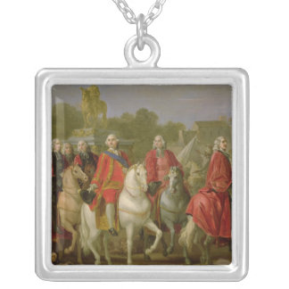 Inauguration of the Place Louis XV Silver Plated Necklace