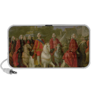 Inauguration of the Place Louis XV Travelling Speaker