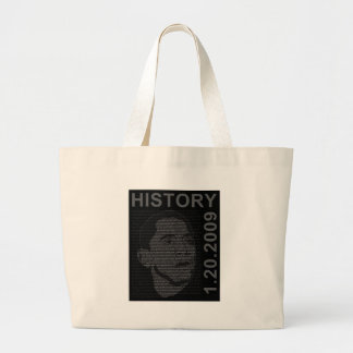 inauguration speech with embeded image canvas bags