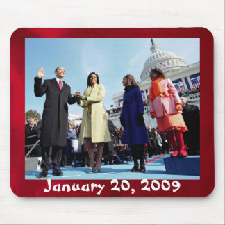 Inauguration Swearing In Mouse Pad