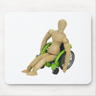 InAWheelchair013110 Mouse Pad