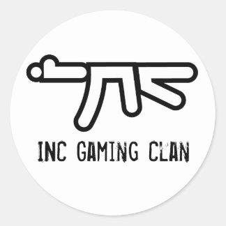 INC AK-47 Round Sticker