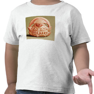 Inca agricultural deity wearing a moon headdress shirt