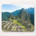 Inca citadel of Machu Picchu, Cuzco - Peru Alfombrillas De Ratón