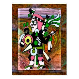 Inca Folk Art Traditional Postcard