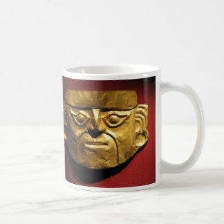 Inca gold mask, Lima, Peru Coffee Mug