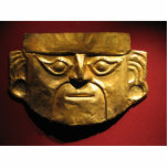 Inca gold mask, Lima, Peru Photo Cut Out