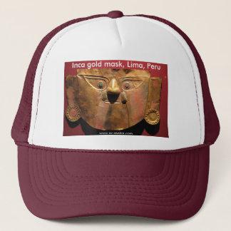 Inca gold mask, Lima, Peru Trucker Hat