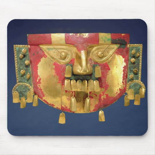 Inca mask mouse pad