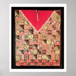 """Inca """"poncho"""", Bolivia, c.1500 (lanas) Poster"""