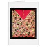Inca 'Poncho', Bolivia, c.1500 (wool) Card