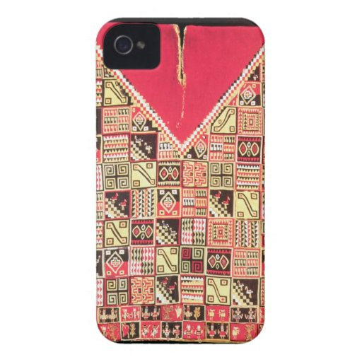 Inca 'Poncho', Bolivia, c.1500 (wool) Case-Mate iPhone 4 Cases