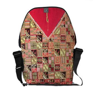 Inca Poncho Bolivia c 1500 wool Messenger Bags