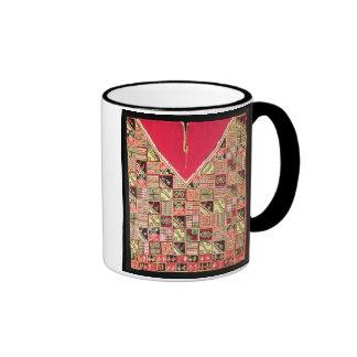 Inca 'Poncho', Bolivia, c.1500 (wool) Ringer Mug