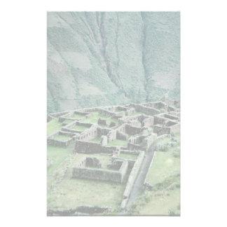 Inca ruins, Pisac, Peru Stationery