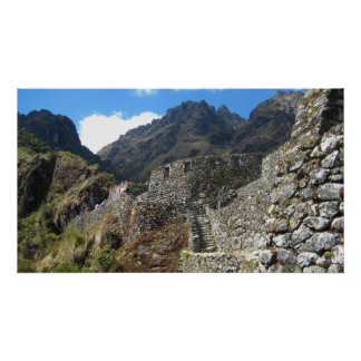 Inca Ruins Poster