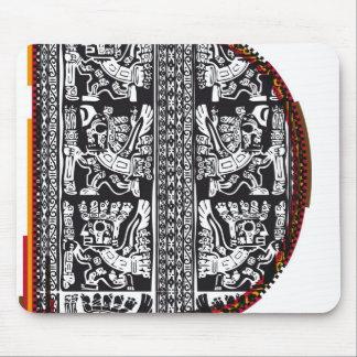 Inca`s font, Letter D Mouse Pad