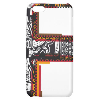 Inca`s font Letter F iPhone 5C Cover