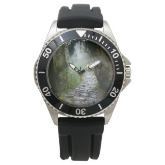 Inca Trail Adventure Watch Stainless Steel, Rubber