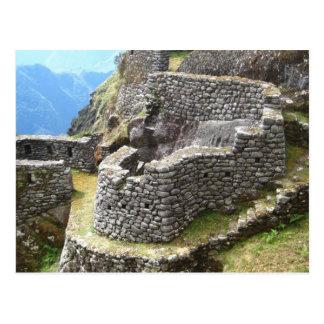 Inca Trail Ruins Postcard