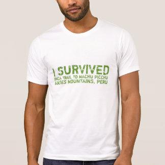 Inca Trail Survivor Tee