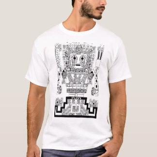 Inca Viracocha Sun deity Ancient Peru Tiwanaku T-Shirt