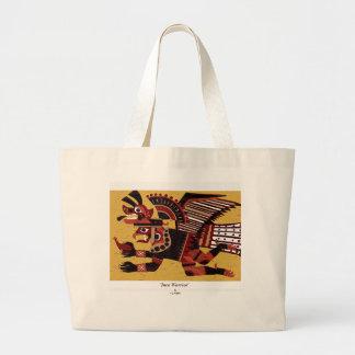 Inca Warrior Canvas Bags